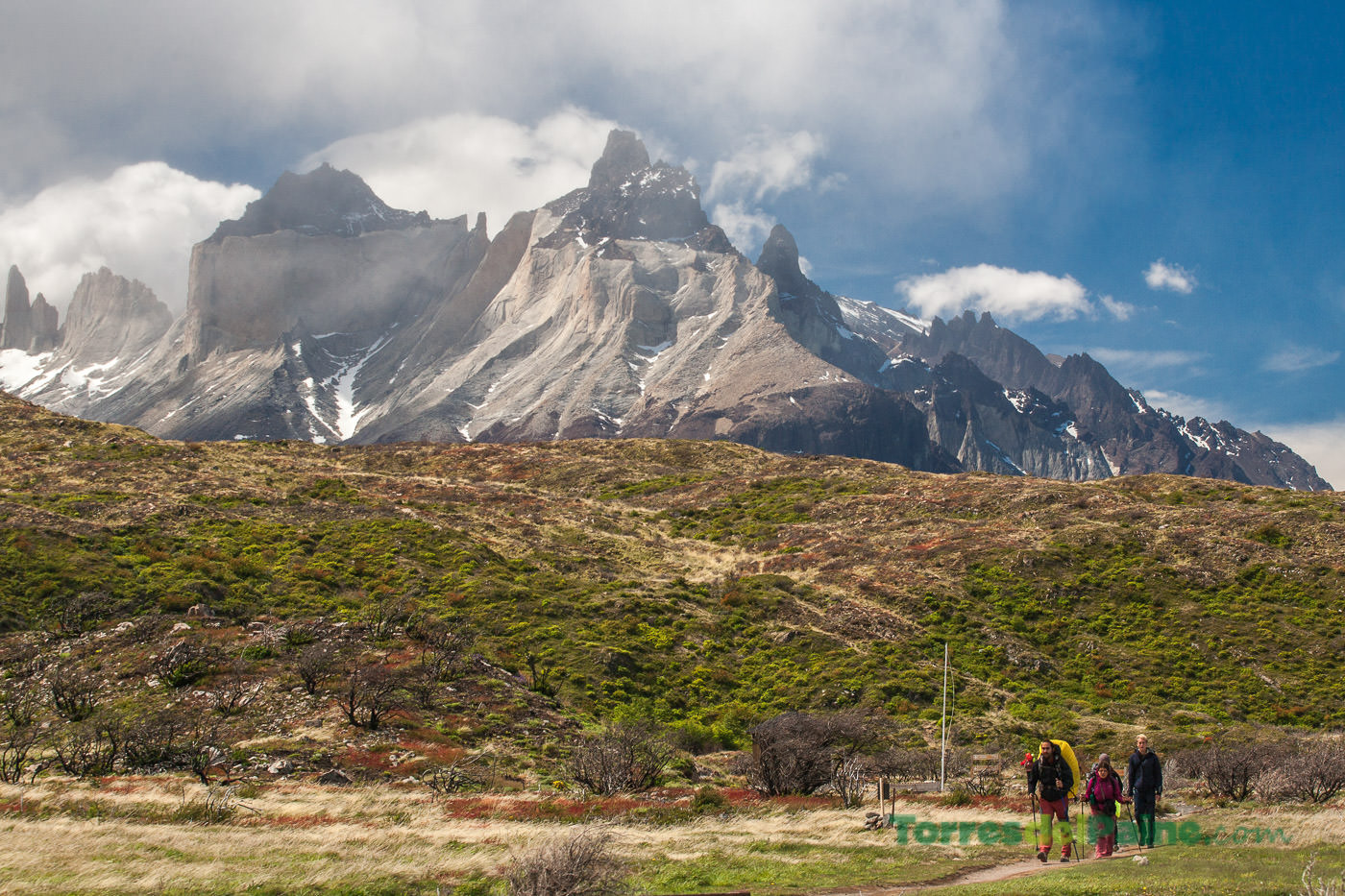 Circuito W Torres Del Paine Camping : Refugio y camping paine grande torresdelpaine