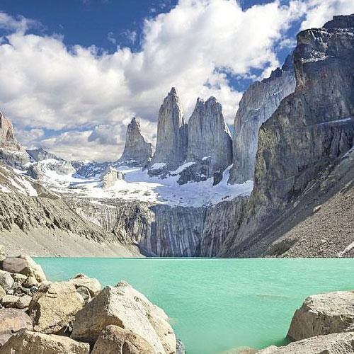 Base of Las Torres del Paine